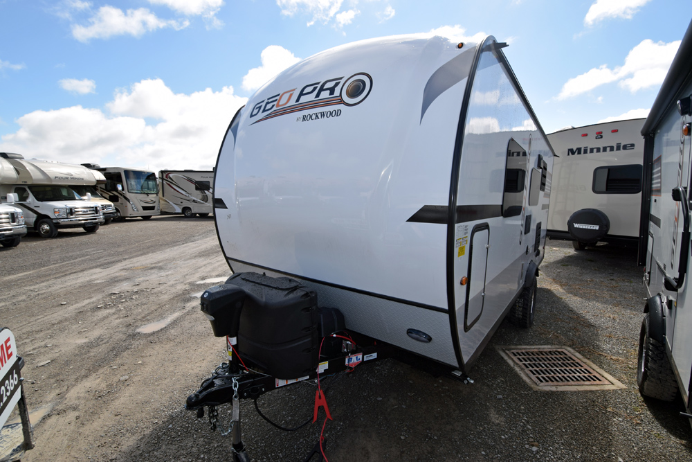 New 2020 Rockwood Geo Pro 19FD Travel Trailer - RV Trailer ...